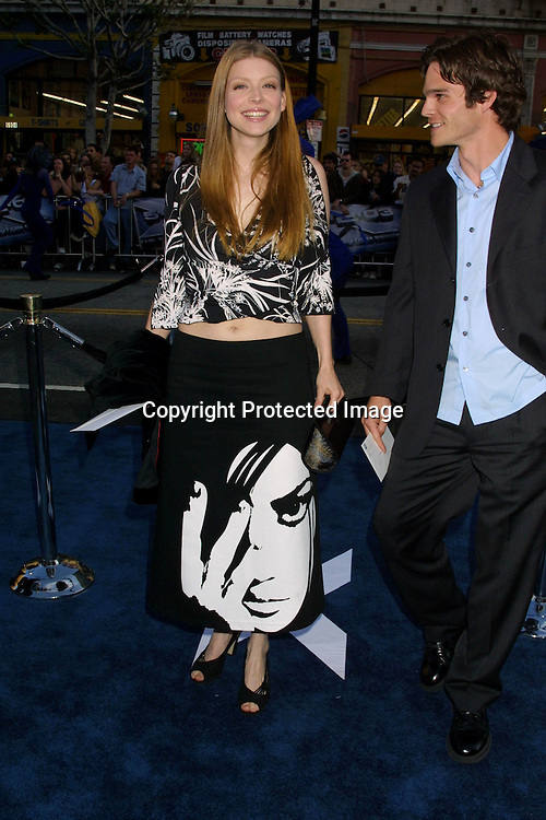 ©2003 KATHY HUTCHINS/HUTCHINS PHOTO.X2:  X-MEN UNITED PREMIERE.GRAUMAN'S CHINESE THEATER.HOLLYWOOD, CA.APRIL 28, 2003..AMBER BENSON