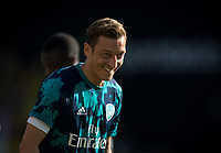Mesut Özil of Arsenal pre match during the Premier League match between Watford and Arsenal at Vicarage Road, Watford, England on 16 September 2019. Photo by Andy Rowland.