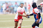 Yume Hirano (JPN), <br /> AUGUST 30, 2018 - Rugby : <br /> Women's Group A match <br /> between Japan 65-0 Idonesia <br /> at Gelora Bung Karno Rugby Field <br /> during the 2018 Jakarta Palembang Asian Games <br /> in Jakartan, Idonesia. <br /> (Photo by Naoki Morita/AFLO SPORT)