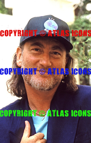 DEEP PURPLE - bassist Roger Glover - photogrpahed exclusively at the Halcyon Hotel in London UK - 25 Jun 1993.  Photo credit: George Chin/IconicPix