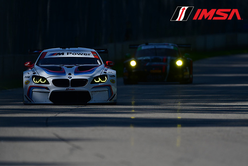 IMSA WeatherTech SportsCar Championship<br /> Continental Tire Road Race Showcase<br /> Road America, Elkhart Lake, WI USA<br /> Saturday 5 August 2017<br /> 24, BMW, BMW M6, GTLM, John Edwards, Martin Tomczyk<br /> World Copyright: Peter Burke<br /> LAT Images