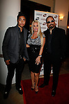 October 14, 2009:  Ice T, wife Coco and son Ice at the 2009 Voice Awards presented by The Substance Abuse and Mental Health Services Administration at Paramount Studios, Los Angeles, California..Photo by Nina Prommer/Milestone Photo