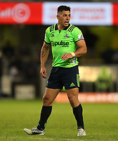 DURBAN, SOUTH AFRICA - MAY 05: Rob Thompson of the Pulse Energy Highlanders during the Super Rugby match between Cell C Sharks and Highlanders at Jonsson Kings Park Stadium in Durban, South Africa on Saturday, 5 May 2018. Photo: Steve Haag / stevehaagsports.com