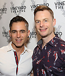 Ross Rayburn and Christopher Wheeldon attends the Opening Night Performance of 'The Beast In The Jungle' at The Vineyard Theatre on May 23, 2018 in New York City.
