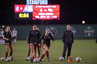 Stanford CA: Women's Soccer versus Arizona, at Cagan Stadium, September 21, 2018.