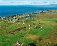 Stokkseyri séð til  vesturs, Árborg áður Stokkseyrarhreppur / Stokkseyri viewing west, Arborg former Stokkseyrarhreppur.