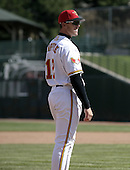 April 11, 2004:  Terry Tiffee (12) of the Rochester Red Wings, Triple-A International League affiliate of the Minnesota Twins, during a game at Frontier Field in Rochester, NY.  Photo by:  Mike Janes/Four Seam Images