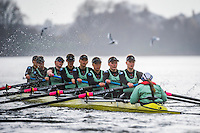 20151210 Varsity Women's Boat Race Trial, London. UK.