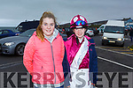 Ava and Amber Sugrue from Tralee getting ready for Ballyheigue Races on Saturday.