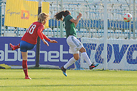 20190306 - LARNACA , CYPRUS : Czech midfielder Jitka Chlastakova (18) pictured during a women's soccer game between Czech Republic and Mexico , on Wednesday 6 March 2019  at the Antonis Papadopoulos Stadium in Larnaca , Cyprus . . This last game for both teams which decides for places 5 and 6 of the Cyprus Womens Cup 2019 , a prestigious women soccer tournament as a preparation on the Uefa Women's Euro 2021 qualification duels. Banner Cyprus in your heart !  PHOTO SPORTPIX.BE | STIJN AUDOOREN