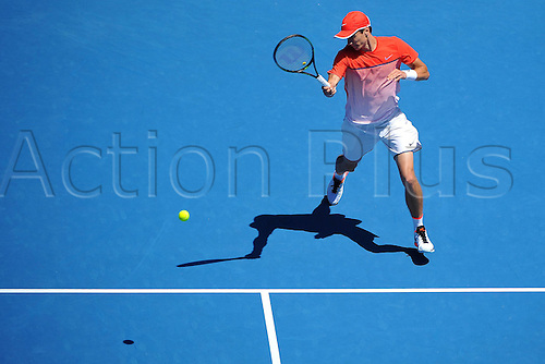 25.01.2016. Melbourne Park, Melbourne, Australia.  Andrey Kuznetsov (RUS) Australian Open
