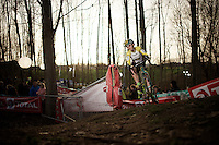 Australian Champion Lisa Jacobs (AUS)<br /> <br /> Superprestige Diegem 2015