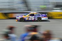 May 2, 2008; Richmond, VA, USA; NASCAR Sprint Cup Series driver Jamie McMurray during practice for the Dan Lowry 400 at the Richmond International Raceway. Mandatory Credit: Mark J. Rebilas-US PRESSWIRE