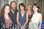 Pictured at the tradition music concert in aid of Pieta House in the INEC Acoustic Club were Méabh Begley, Gearóid O'Dineen, Aileen Cronin, Siobhan O'Brien and Roisin Cronin................................................