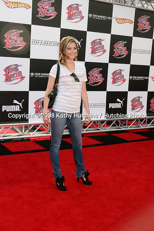 "Holly Valance.""Speed Racer"" Premiere.Nokia Theater.Los Angeles, CA.April 26, 2008.©2008 Kathy Hutchins / Hutchins Photo"