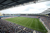 Sporting Park .Sporting Kansas City and Houston Dynamo played to a 1-1 tie at Sporting Park, Kansas City, Kansas.