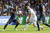 June 19th 2017, Kielce, Poland; UEFA European U-21 football championships, England versus Slovakia; Lewis Baker (ENG) passes under pressure from Matus Bero (SLO)