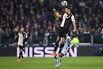 Sami Khedira of Juventus heads away during the UEFA Champions League match at Juventus Stadium, Turin. Picture date: 26th November 2019. Picture credit should read: Jonathan Moscrop/Sportimage