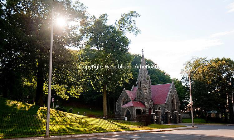 WATERBURY, CT--- -081215JS09- Riverside Cemetery in Waterbury's aldermanic district 1. <br /> Jim Shannon Republican-American
