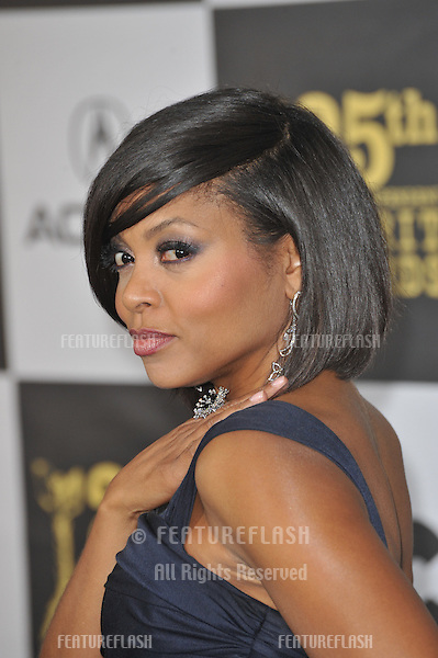 Taraji P. Henson at the 25th Anniversary Film Independent Spirit Awards at the L.A. Live Event Deck in downtown Los Angeles..March 5, 2010  Los Angeles, CA.Picture: Paul Smith / Featureflash