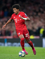 Serge Gnabry of Bayern Munich during the UEFA Champions League group match between Tottenham Hotspur and Bayern Munich at Wembley Stadium, London, England on 1 October 2019. Photo by Andy Rowland.