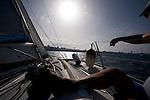 Sailing near Canteras Beach. Las Palmas de Gran Canaria. ©Juan Naharro Gimenez
