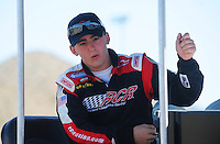 Apr 17, 2009; Avondale, AZ, USA; NASCAR Nationwide Series driver Austin Dillon during qualifying prior to the Bashas Supermarkets 200 at Phoenix International Raceway. Mandatory Credit: Mark J. Rebilas-