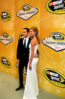 12/02/09: NASCAR Sprint Cup Series Champion Jimmie Johnson  during Day 3 of the NASCAR Sprint Cup Series Champions Week on December 4, 2009 in Las Vegas, Nevada.