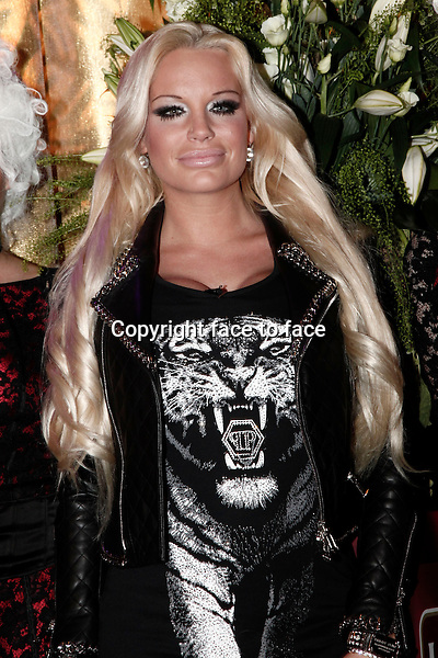 """Gina Lisa Lohfink arriving for the """"325 Years Lambertz Monday Night 2013"""" Event in the Alter Wartesaal. Cologne, Germany, 28.01.2013...Credit: Back/face to face"""