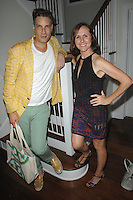 Cameron Silver, Molly Shannon==<br /> LAXART 5th Annual Garden Party Presented by Tory Burch==<br /> Private Residence, Beverly Hills, CA==<br /> August 3, 2014==<br /> ©LAXART==<br /> Photo: DAVID CROTTY/Laxart.com==
