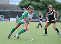 23 June 2013; Deirdre Duke, Ireland. Electric Ireland Senior Women's International Friendly, Ireland v Canada, Belfield, Dublin. Picture credit: Tommy Grealy/Actionshots.ie