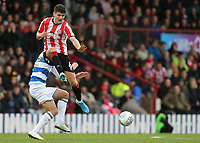 Christian Norgaard of Brentford in action during Brentford vs Queens Park Rangers, Sky Bet EFL Championship Football at Griffin Park on 11th January 2020