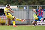 Inverness Caley Thistle v St Johnstone&hellip;27.08.16..  Tulloch Stadium  SPFL<br />Chris Kane shoots wide of the post<br />Picture by Graeme Hart.<br />Copyright Perthshire Picture Agency<br />Tel: 01738 623350  Mobile: 07990 594431