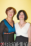 Eileen Kennedy and Elizabeth McCarthy enjoying the fashion show in aid of Bee for Battens in Keel Community Centre on Friday night