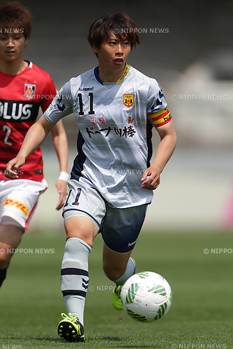 Megumi Takase (Leonessa), April 30, 2016 - Football / Soccer : Megumi Takase of INAC Kobe Leonessa runs with the ball during the Nadeshiko League match between Urawa Reds Ladies and INAC Kobe Leonessa at Urawa Komaba Stadium in Saitama, Japan (Photo by AFLO)