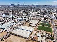 Vista aerea de los Campos de futbol Deportivos de la Liga Oxxo.<br /> Naves Industriales. Nave Industrial.<br /> <br /> <br /> <br /> Photo: (NortePhoto / LuisGutierrez)<br /> <br /> ...<br /> keywords: