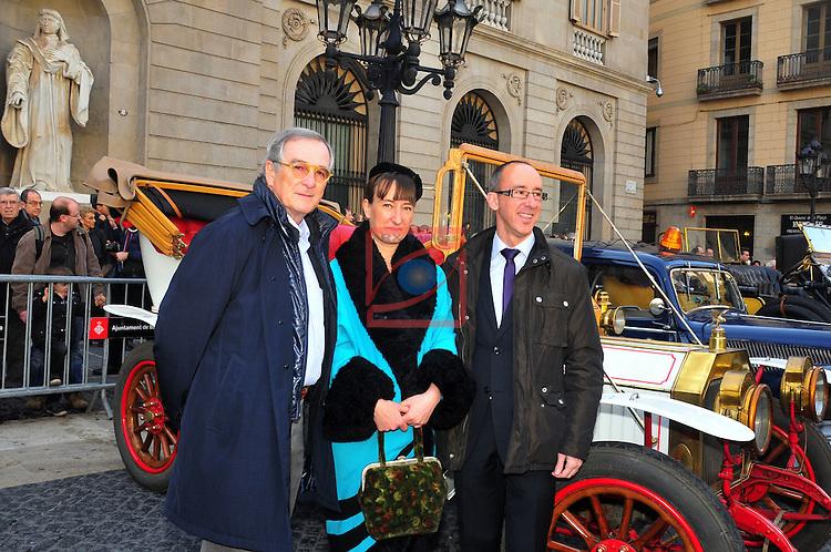 55 Ral.li Internacional de Cotxes d'Epoca.<br /> Xavier Trias, Monica Glaenzel &amp; Miquel Forns.