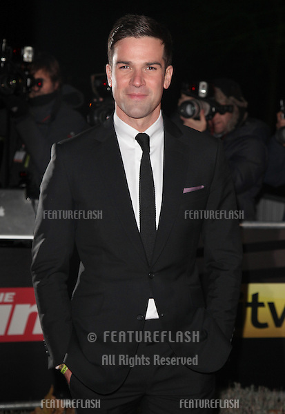 Gethin Jones arriving for The Sun Military Awards, at The Imperial War Museum, London. 06/12/2012 Picture by: Alexandra Glen / Featureflash