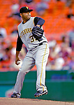 5 June 2007: Pittsburgh Pirates pitcher Shawn Chacon in action against the Washington Nationals at RFK Stadium in Washington, DC. The Pirates defeated the Nationals 7-6, in the first game of their 3-game series...Mandatory Credit: Ed Wolfstein Photo