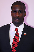 DC United goalkeeper Bill Hamid, at the 2011 Season Kick off Luncheon, at the Marriott Hotel in Washington DC, Wednesday March 16 2011.