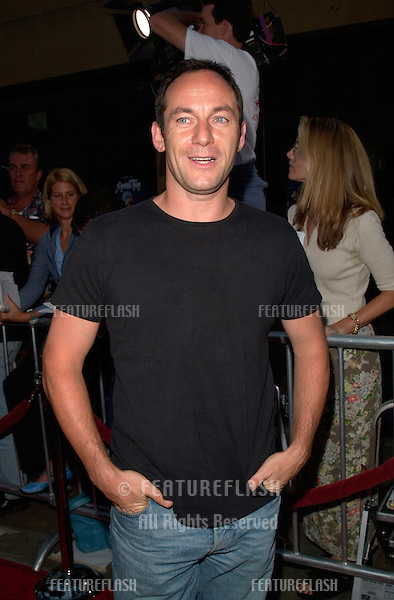 British actor JASON ISAACS at the world premiere, in Hollywood, of This Is Spinal Tap - the 1984 rockumentary.