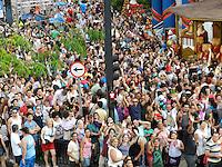 ATENÇÃO EDITOR: FOTO EMBARGADA PARA VEÍCULOS INTERNACIONAIS. - SÃO PAULO - SP - 25 DE DEZEMBRO 2012. MOVIMENTAÇÃO AV PAULISTA. FOTO: MAURICIO CAMARGO / BRAZIL PHOTO PRESS.