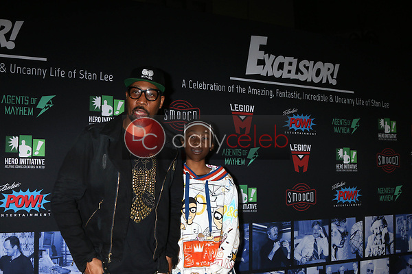 """RZA, Guest<br /> at """"Excelsior! A Celebration of the Amazing, Fantastic, Incredible & Uncanny Life of Stan Lee,"""" TCL Chinese Theater, Hollywood, CA 01-30-19<br /> David Edwards/DailyCeleb.com 818-249-4998"""