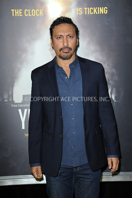 www.acepixs.com<br /> September 21, 2016  New York City<br /> <br /> Aasif Mandvi attending National Geographic's 'Years Of Living Dangerously' new season world premiere at the American Museum of Natural History on September 21, 2016 in New York City. <br /> <br /> Credit: Kristin Callahan/ACE Pictures<br /> <br /> <br /> Tel: 646 769 0430<br /> Email: info@acepixs.com