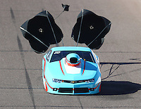 Feb 24, 2017; Chandler, AZ, USA; NHRA top sportsman driver Greg Lair during qualifying for the Arizona Nationals at Wild Horse Pass Motorsports Park. Mandatory Credit: Mark J. Rebilas-USA TODAY Sports