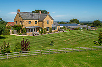 Time to mooove? Cows sold separately - Home and farm in Somerset on the market for £2.75m