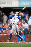 Lexington Legends designated hitter Wander Franco (8) at bat during a game against the Hagerstown Suns on May 22, 2015 at Whitaker Bank Ballpark in Lexington, Kentucky.  Lexington defeated Hagerstown 5-1.  (Mike Janes/Four Seam Images)