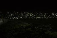 MEDELLIN-COLOMBIA- 29-04-2017. Falla eléctrica en el estadio Atnasio Girardot por 15 minutos.Acción de juego entre el  Atlético Nacional y   el Once Caldas   durante encuentro  por la fecha 15 de la Liga Aguila I 2017 disputado en el estadio Atanasio Girardot./ Action game between  Atletico Nacional and  Once Caldas during match for the date 15 of the Aguila League I 2017 played at Atanasio Girardot stadium . Photo:VizzorImage / León Monsalve / Contribuidor