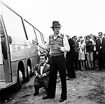 Beatles 1967 Paul McCartney at start of Magical Mystery Tour.© Chris Walter.