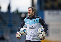 Wycombe Wanderers Goalkeeping Coach Barry Richardson during the Sky Bet League 2 match between Portsmouth and Wycombe Wanderers at Fratton Park, Portsmouth, England on 23 April 2016. Photo by Andy Rowland.